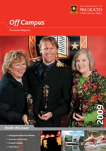 The University of Waikato - Alumni Off Campus Magazine 2009